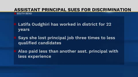 Assistant principal suing South Bend schools alleging discrimination